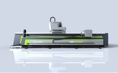 Safe and high-performance plate and tube integrated laser cutting machine