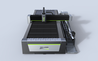 Medium power professional fiber tube sheet laser cutting machine