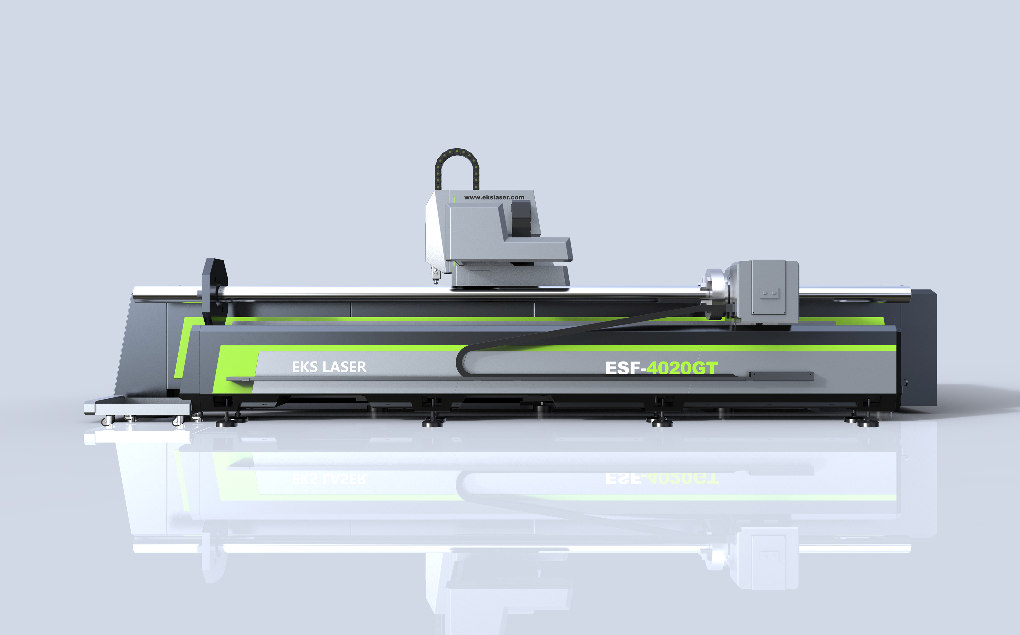 Precision and efficient metal plate and tube integrated laser cutting machine