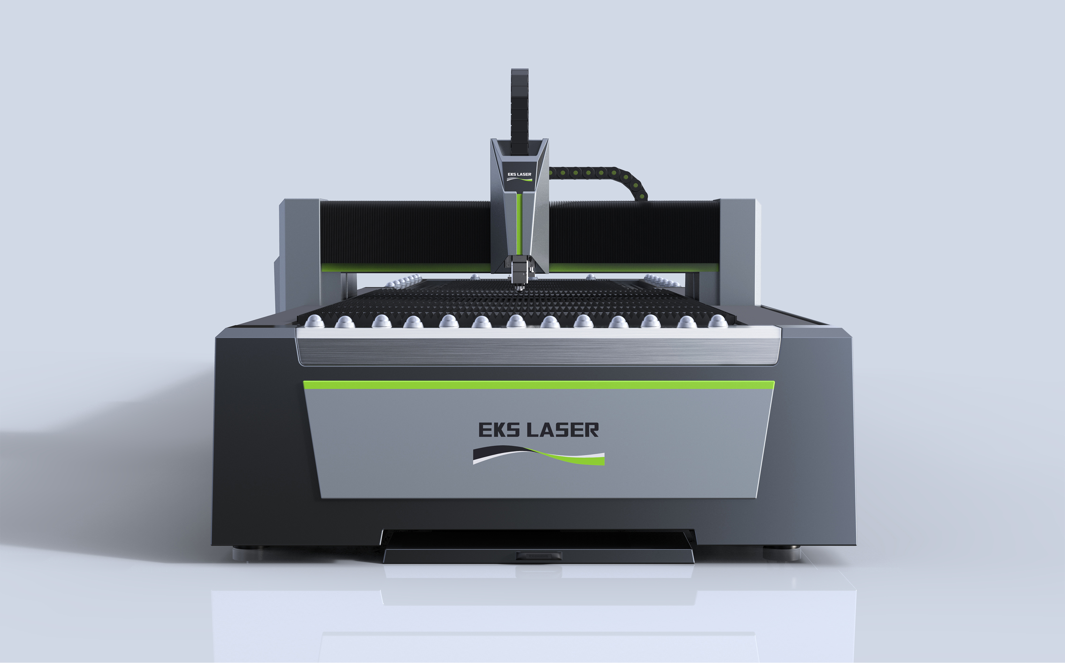 High Precision Steel Fiber Laser Metal Cutting Machine
